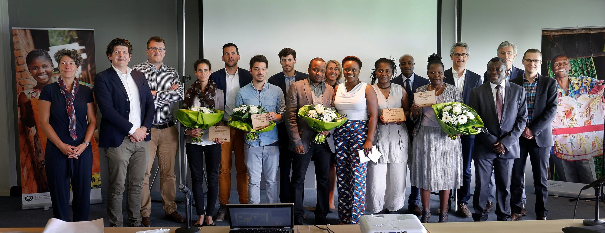 Ontdek de winnaars van de eerste Sustainable Technology for Africa contest
